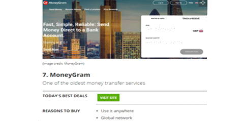 MoneyGram best money transfers app of 2021 - Image